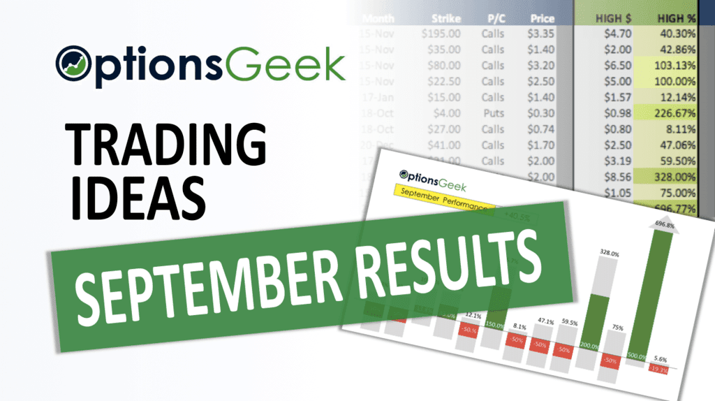 September Results Cover