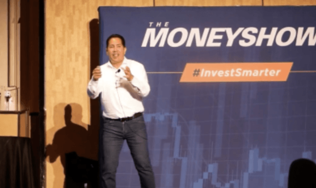 Felix Frey Keynote Speaker at the Money Show