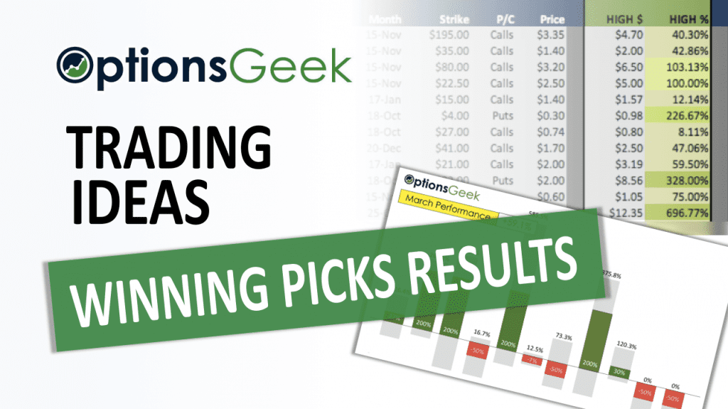 Winning Picks Results Cover