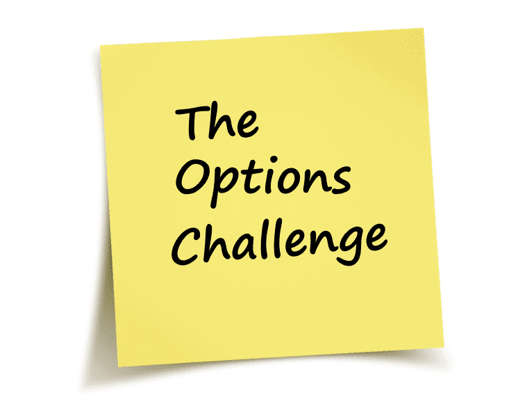 The Options Challenge Featured