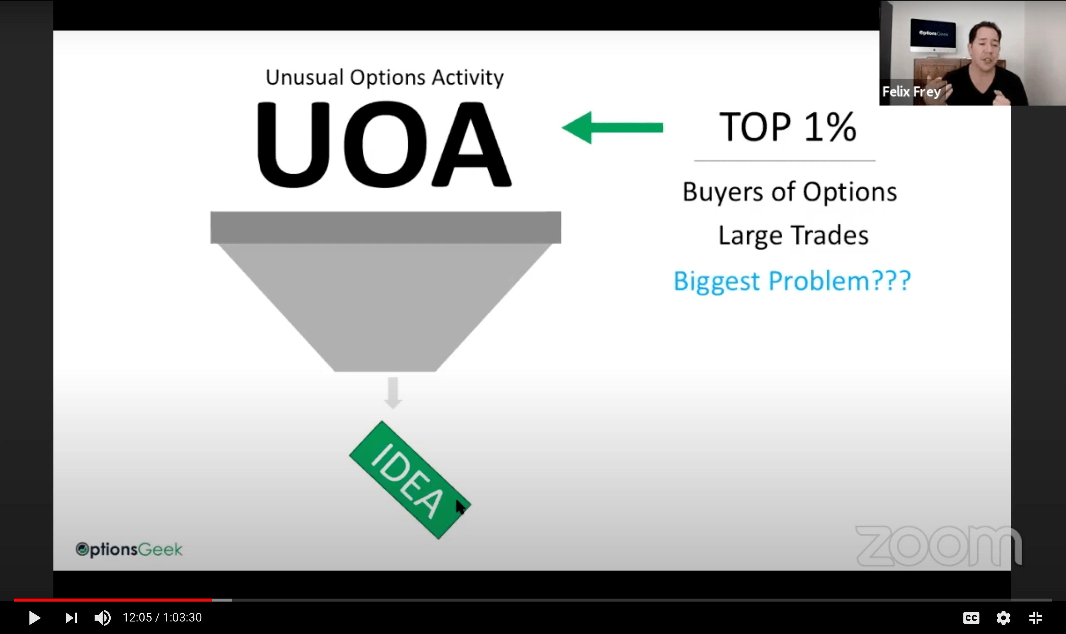 Webinar UOA Options