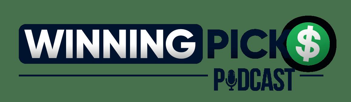 Winning Picks Podcast Logo Dark Blue