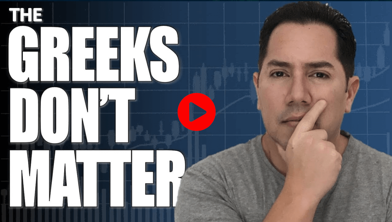 Options Trading Tutorial - The Option Greeks Don't Matter