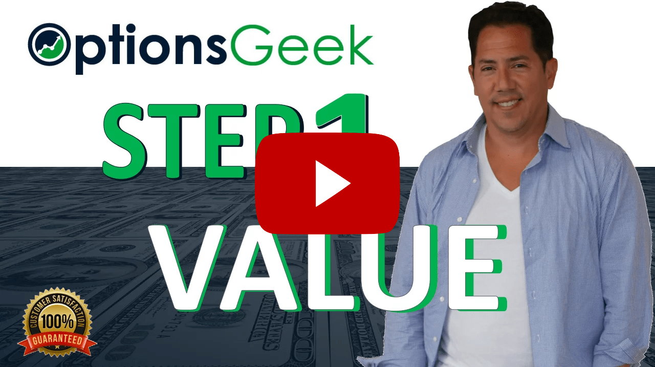 Step 1 Value steps to profit